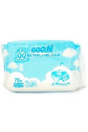 Салфетки Goon влажные в мягкой упаковке 70 шт
