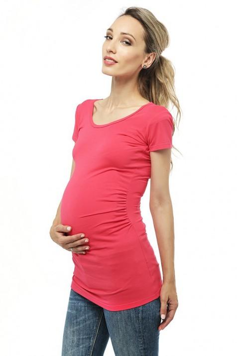 Футболка для беременных — Малина